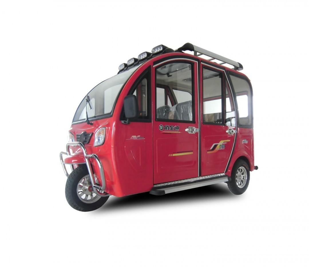 金迪电动三轮的座椅怎么放平 是什么依据图片