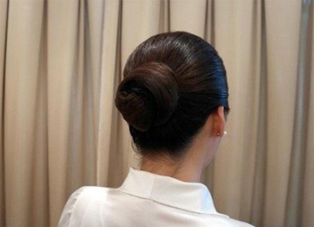 怎么盘头发 盘头发的方法图片