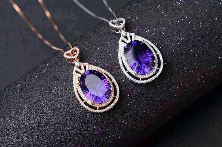女生佩戴紫水晶的禁忌 女士戴紫水晶注意事项图片