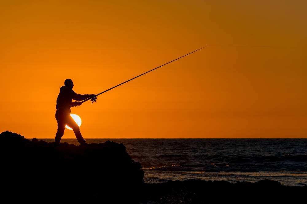 适合钓鱼发朋友圈的句子 钓鱼的句子盘点图片