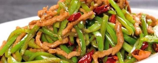 青椒炒什么好吃,对于青椒炒肉的做法的要点
