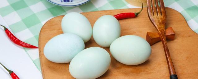 盐水鸭蛋怎么腌制方法你清楚吗?