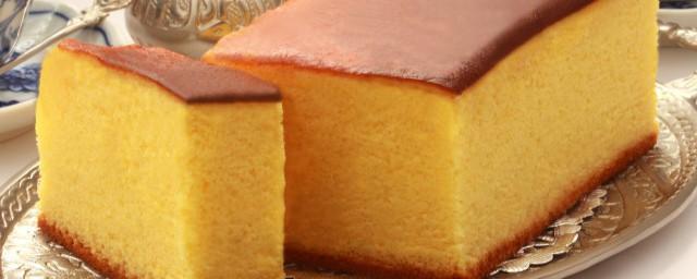 为啥蛋糕做出来不蓬松相关解释