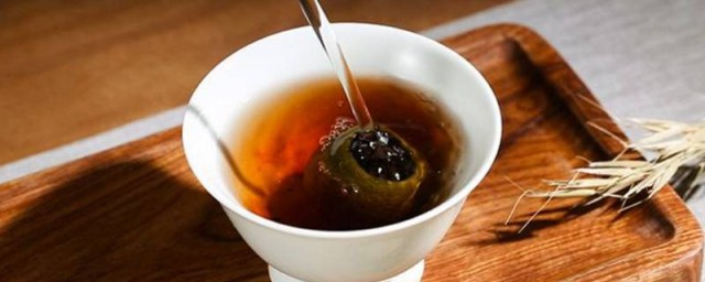 青柑茶是啥茶怎样,青柑茶的介绍好吗