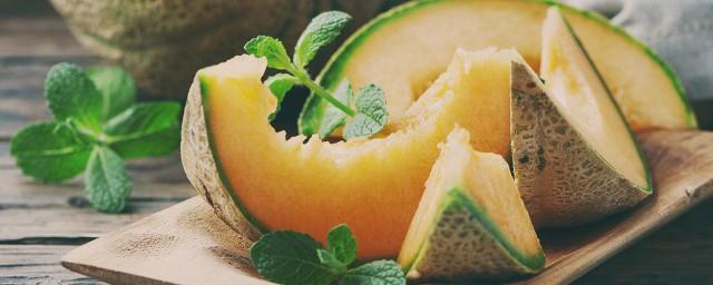 哈密瓜怎么储存办法,原来怎样保存哈密瓜