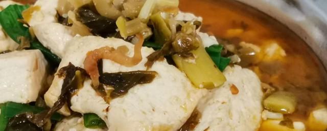 咸菜滚豆腐是啥菜式你了解吗?